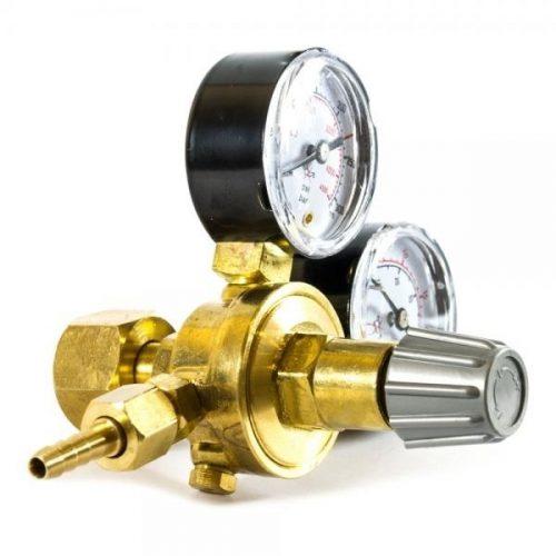 Velt Reductor de presiune CO2 ARG cu 2 manometre