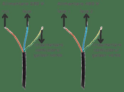 schema conectare stecher mma 270D